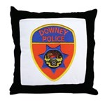 Downey Police Throw Pillow