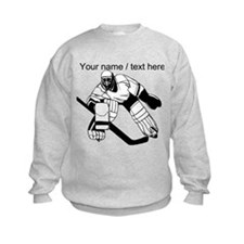 Custom Hockey Goalie Sweatshirt