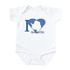 I love antarctic Infant Bodysuit