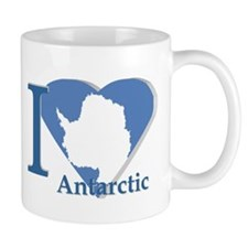 I love antarctic Mug