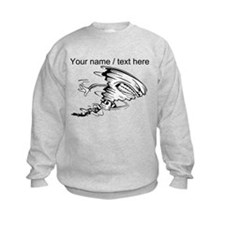 Custom Tornado Football Sweatshirt
