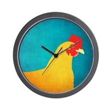 Chicken Hen Wall Clock