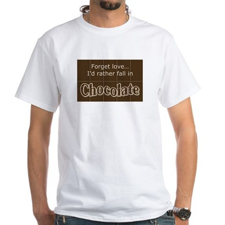 Chocolate lover White T-Shirt