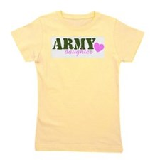 Army Daughter Green.jpg Girl's Tee