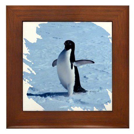 Penguin Framed Tile