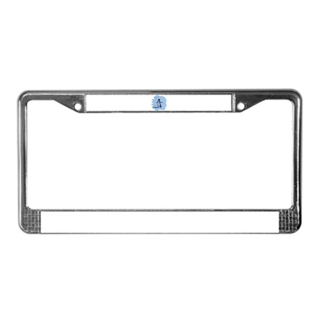 Penguin License Plate Frame