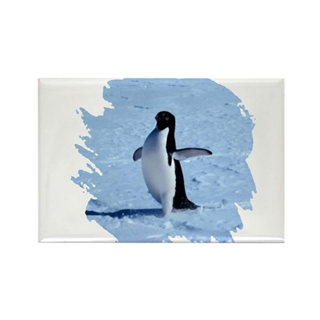 Penguin Rectangle Magnet (100 pack)