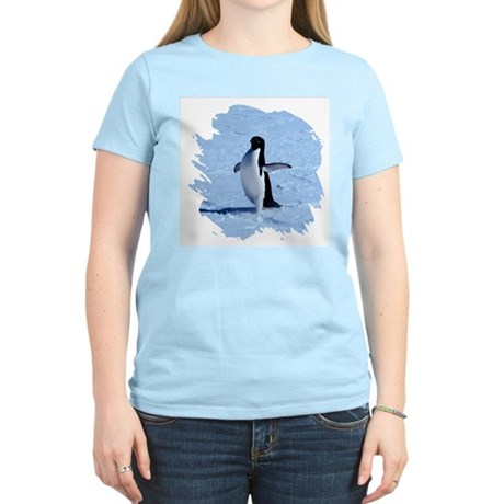 Penguin Women's Pink T-Shirt