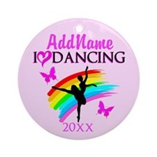 LOVE DANCING Ornament (Round)