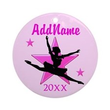 DANCER GIRL Ornament (Round)