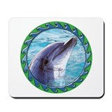 Dolphin Head Mousepad