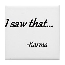 Karma Tile Coaster