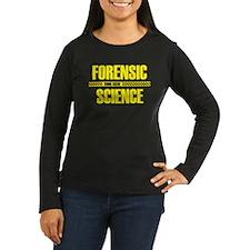 Crime Scene Women's Long Sleeve Dark T-Shirt