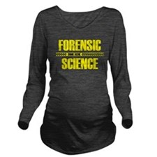 Crime Scene Long Sleeve Maternity T-Shirt