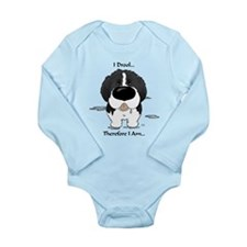 Newfie (Landseer) - I Drool Baby Suit