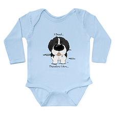 Newfie (Landseer) - I Drool Long Sleeve Infant Bod