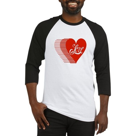 Love Heart Baseball Jersey