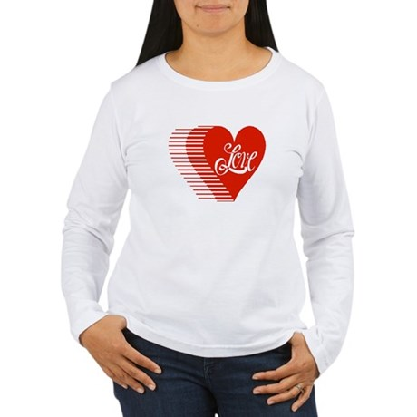 Love Heart Women's Long Sleeve T-Shirt