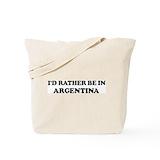 Argentina Canvas Bags