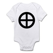 Planet Earth Symbol Infant Bodysuit