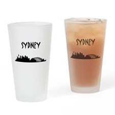 Sydney Skyline Drinking Glass