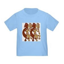 KOKOPELLI ROCK ART T