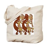 KOKOPELLI ROCK ART Tote Bag