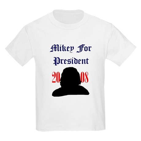 Mikey For President Kids T-Shirt
