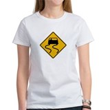Car Slippery When Wet - USA Tee