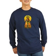 King of Mardi Gras (gold) T