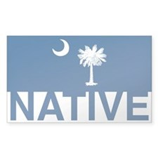 South Carolina Native Rectangle Decal
