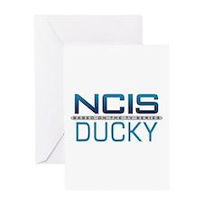NCIS Logo Ducky Greeting Card