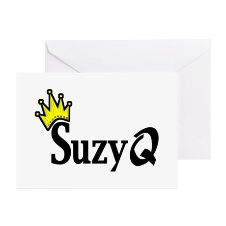 Suzy Q Greeting Cards (Pk of 10)