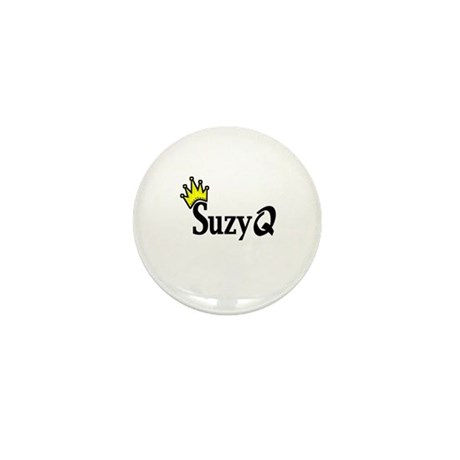 Suzy Q Mini Button