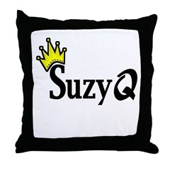 Suzy Q Throw Pillow