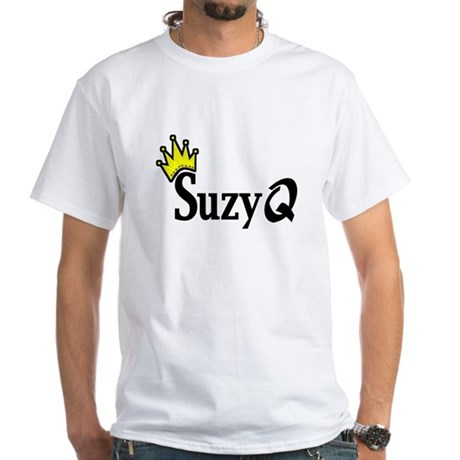 Suzy Q White T-Shirt