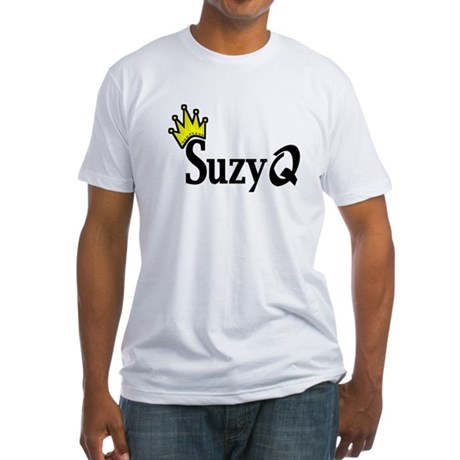 Suzy Q Fitted T-Shirt
