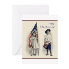 Independence Day Greeting Cards (Pk of 10)