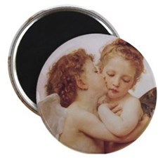 "Unique Angel painting 2.25"" Magnet (100 pack)"