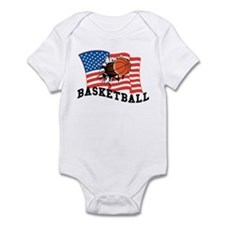 American Basketball Infant Bodysuit