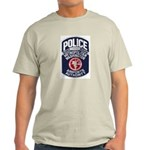 Dulles Airport Police Ash Grey T-Shirt