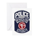 Dulles Airport Police Greeting Cards (Pk of 10