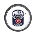 Dulles Airport Police Wall Clock