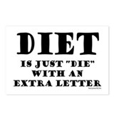 Diet 1 Postcards (Package of 8)