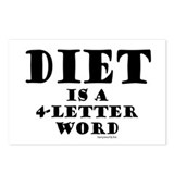 Diet 2 Postcards (Package of 8)
