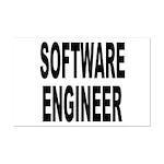 Software Engineer Mini Poster Print