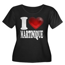 I Heart Martinique Plus Size T-Shirt