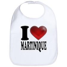 I Heart Martinique Bib
