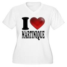 I Heart Martinique Plus Size T-Shirt