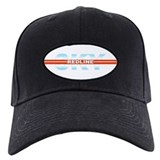 "Sky Redline ""Chrome"" Baseball Hat"